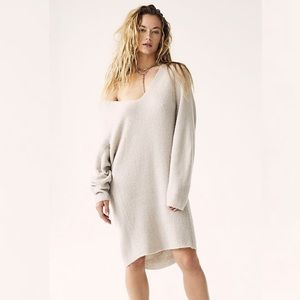 NEW Free People Longline Sweater Tunic